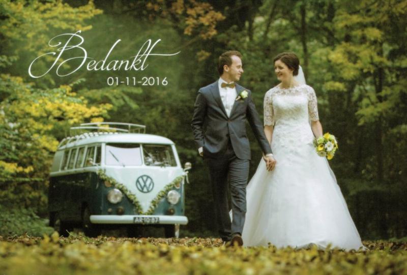 VW T1 huren trouwbusje