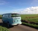 VW busje als trouwvervoer