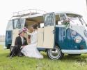 trouwen in een VW T1 busje