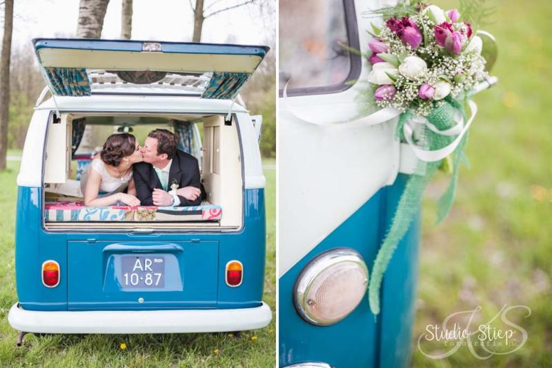 trouwen in een VW T1